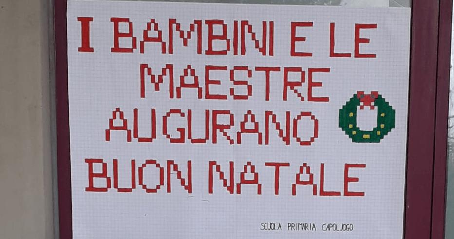 """La Scuola Primaria """"G. Galilei"""" augura a tutti Buon Natale"""